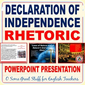 The Declaration of Independence PowerPoint-- A Discussion