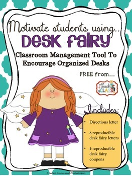 The Desk Fairy: Clean and Organized Desk Tool - Classroom