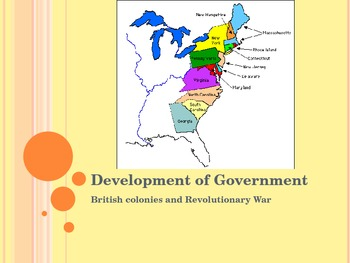 The Development and History of Government in the U.S.