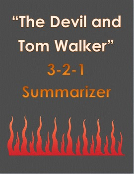 """The Devil and Tom Walker"" 3-2-1 Summary"