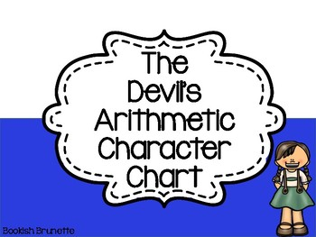 The Devil's Arithmetic Character Chart
