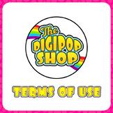 The DigiPop Shop Terms of Use (TOU)