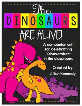 "The Dinosaurs are ALIVE! Celebrating ""Dinovember"" in the C"