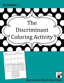 The Discriminant Coloring Activity