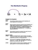 The Distributive Property Lesson Plan