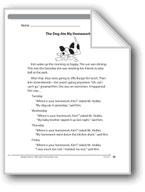 The Dog Ate My Homework (Fiction)