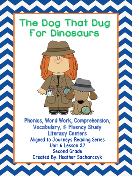 The Dog The Dug For Dinosaurs - Aligned to Journeys Readin