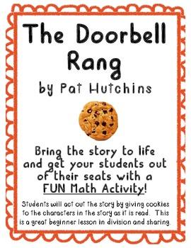 """The Doorbell Rang"" Math Activity Using Literature!"