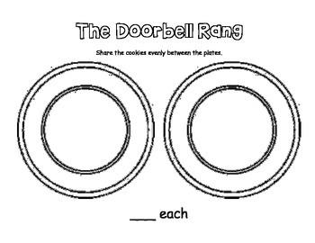 The Doorbell Rang - sharing/division activity