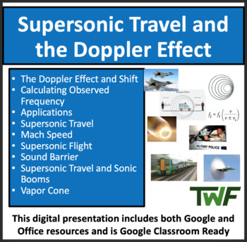 The Doppler Effect and Supersonic Travel - A Physics Lesso