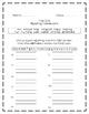 The Dot, Journeys® First Grade, Unit Six Spelling Homework