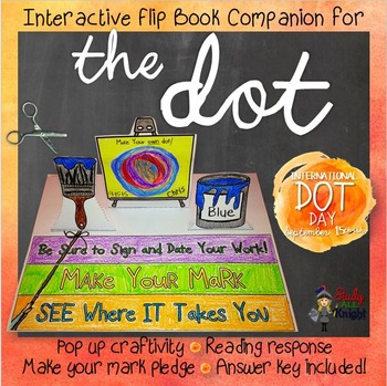 THE DOT, BY PETER H. REYNOLDS LITERATURE GUIDE COMPANION F