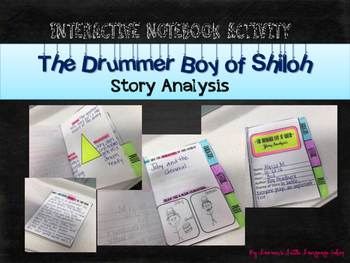 The Drummer Boy of Shiloh Interactive Notebook Story Analysis