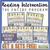 The ENTIRE Reading Intervention Program from A-Z (Growing Bundle)
