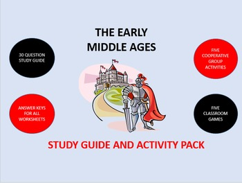 The Early Middle Ages: Study Guide and Activity Pack