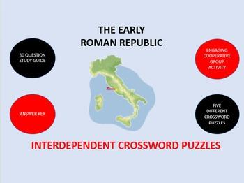 The Early Roman Republic: Crossword Puzzles Activity