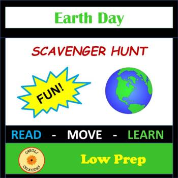 The Earth / Earth Day Scavenger Hunt