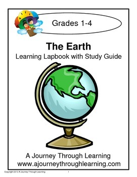 The Earth Lapbook with Study Guide