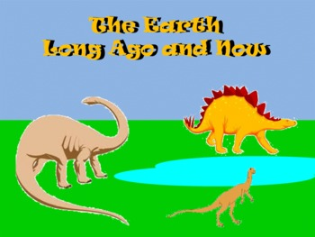 The Earth - Long Ago and Now - A Second Grade SmartBoard Review