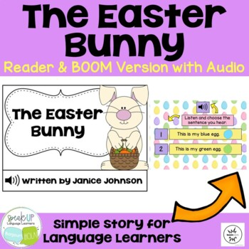 The Easter Bunny Emergent Reader Book + timeline {Young Re