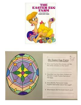 The Easter Egg Farm Craftivity