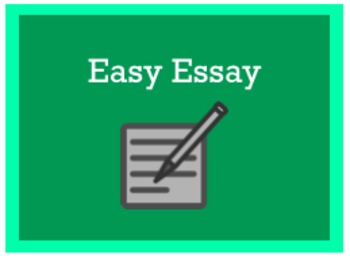 The Easy Essay Writing Process