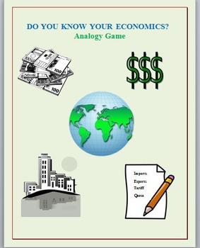 The Economic Analogy Game