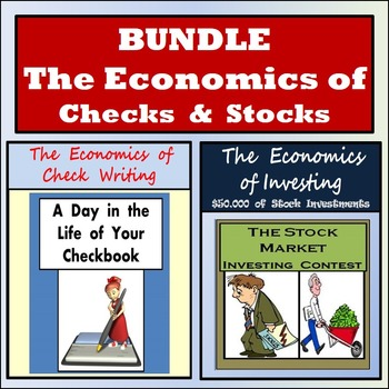 Economics - Check Writing & Stock Market Investing Bundle