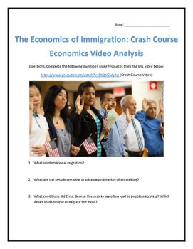 The Economics of Immigration: Crash Course Economics Video