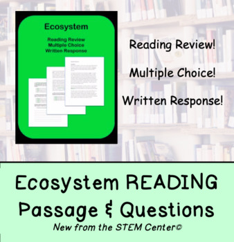 Ecosystem Reading Passage and Questions