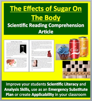 The Effect of Sugar on the Body - Grades 11 and Up - Scien