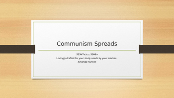 The Effects of the Cold War and Stopping the Spread of Communism