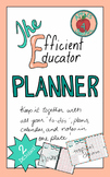 The Efficient Educator Planner