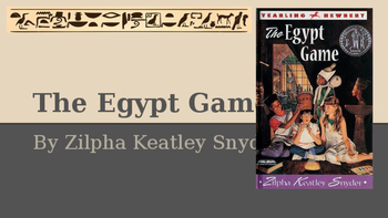 The Egypt Game PowerPoint