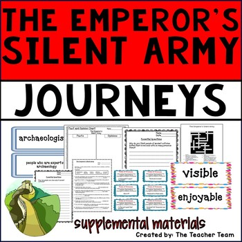 The Emperor's Silent Army Journeys 6th Grade Supplemental