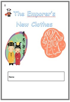 The Emporer's New Clothes Grade 1 & 2 Spelling Booklet