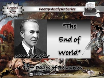 The End of the World by Archibald MacLeish Poem Analysis