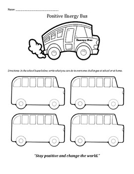 The Energy Bus for Kids: Staying Positive and Overcoming C