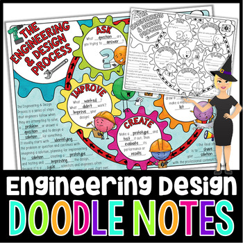 The Engineering & Design Process Doodle Notes