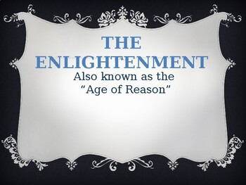 Foundations of Government - The Enlightenment