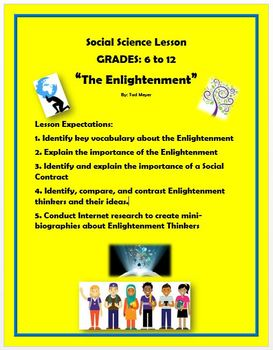 The Enlightenment Lesson