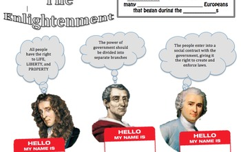 The Enlightenment One Pager