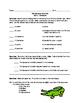 Roald Dahl - The Enormous Crocodile Comprehension Activities