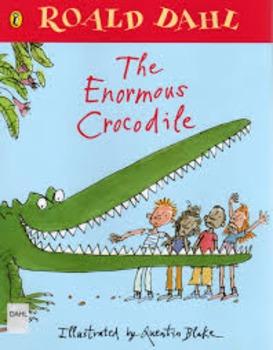 The Enormous Crocodile by Roald Dahl Novel Test