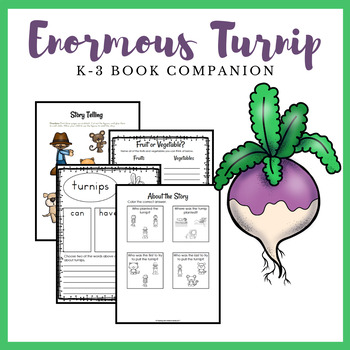 The Enormous Turnip K-2 Learning Pack