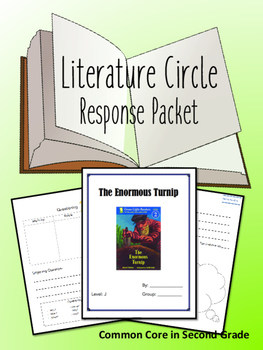 The Enormous Turnip Literature Circle Response Packet- Book Club!