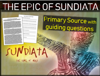 The Epic of Sundiata: The Lion King of Mali: text, backgro