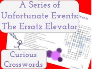 The Ersatz Elevator- Worksheet (Book 6 Series of Unfortuna