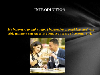 The Essentials of Dining Etiquette