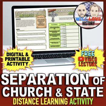 Separation of Church and State Activity